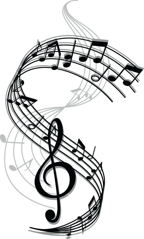 483x800 Musical Notes Drawing At Free Personal Use Image Result