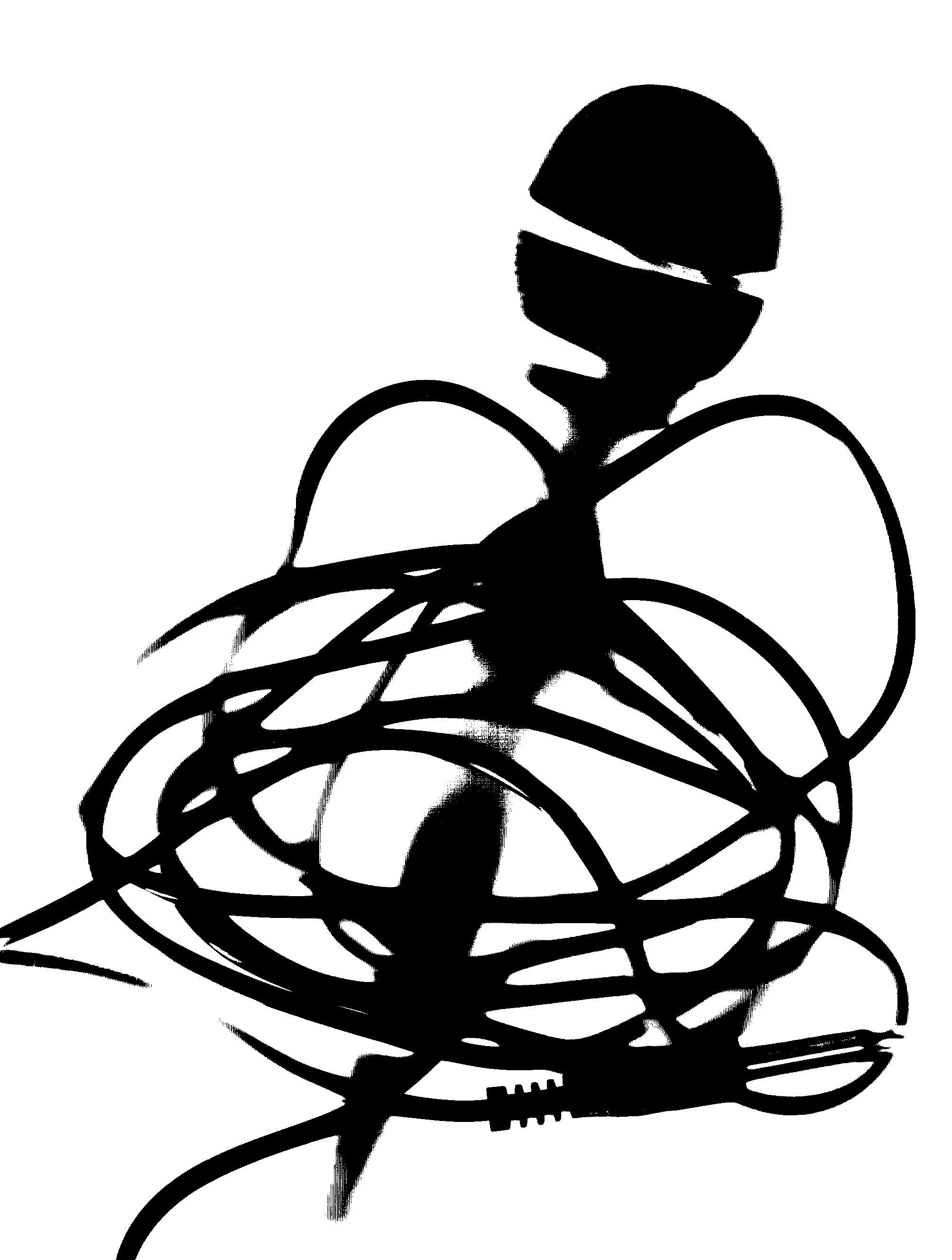 2007x2656 Microphone Drawing Symbol