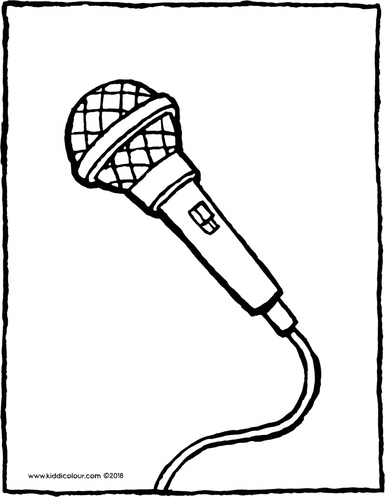 794x1024 Music Colouring Pages