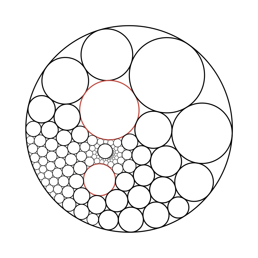 1041x1041 Circle Packing Theory And Practice Geometry And The Imagination