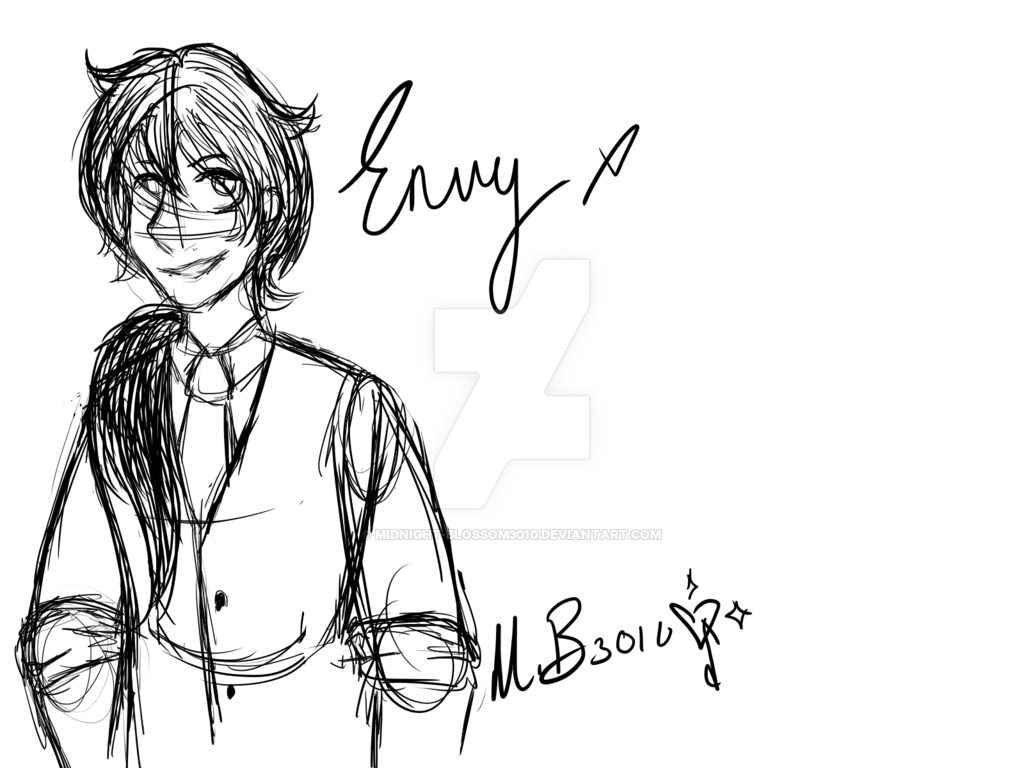 1024x768 Envy (Sketch) Drawing Tablet Practice By Midnight Blossom3010