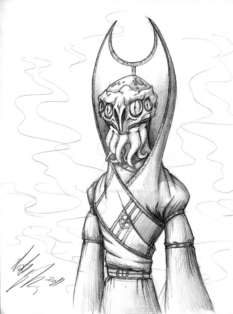 770x1037 Mind Flayer Sketch By Scotlandtom