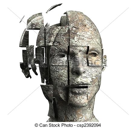 450x425 Woman's Mind Drawing