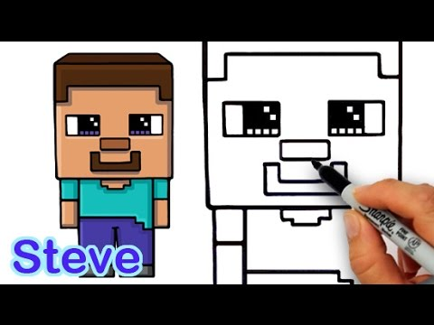 480x360 How To Draw Steve From Minecraft Cute And Easy For Beginners