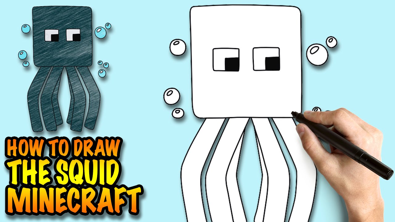 1280x720 How To Draw The Squid