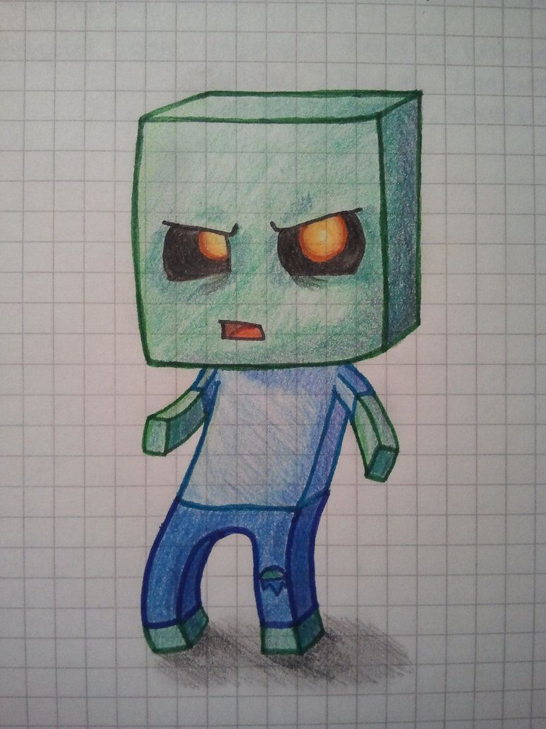 774x1032 Zombie Minecraft Drawing Minecraft Drawings Zombie Mc