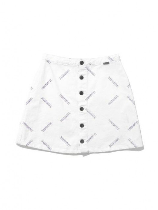 528x702 Thisisneverthat W Button Up Skirt White Collections