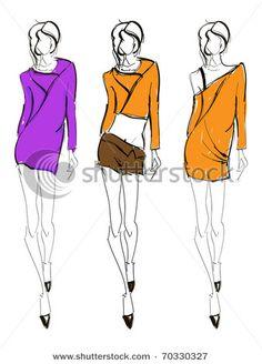 236x328 Girl In Mini Skirt Image Free Vector Mini Skirts