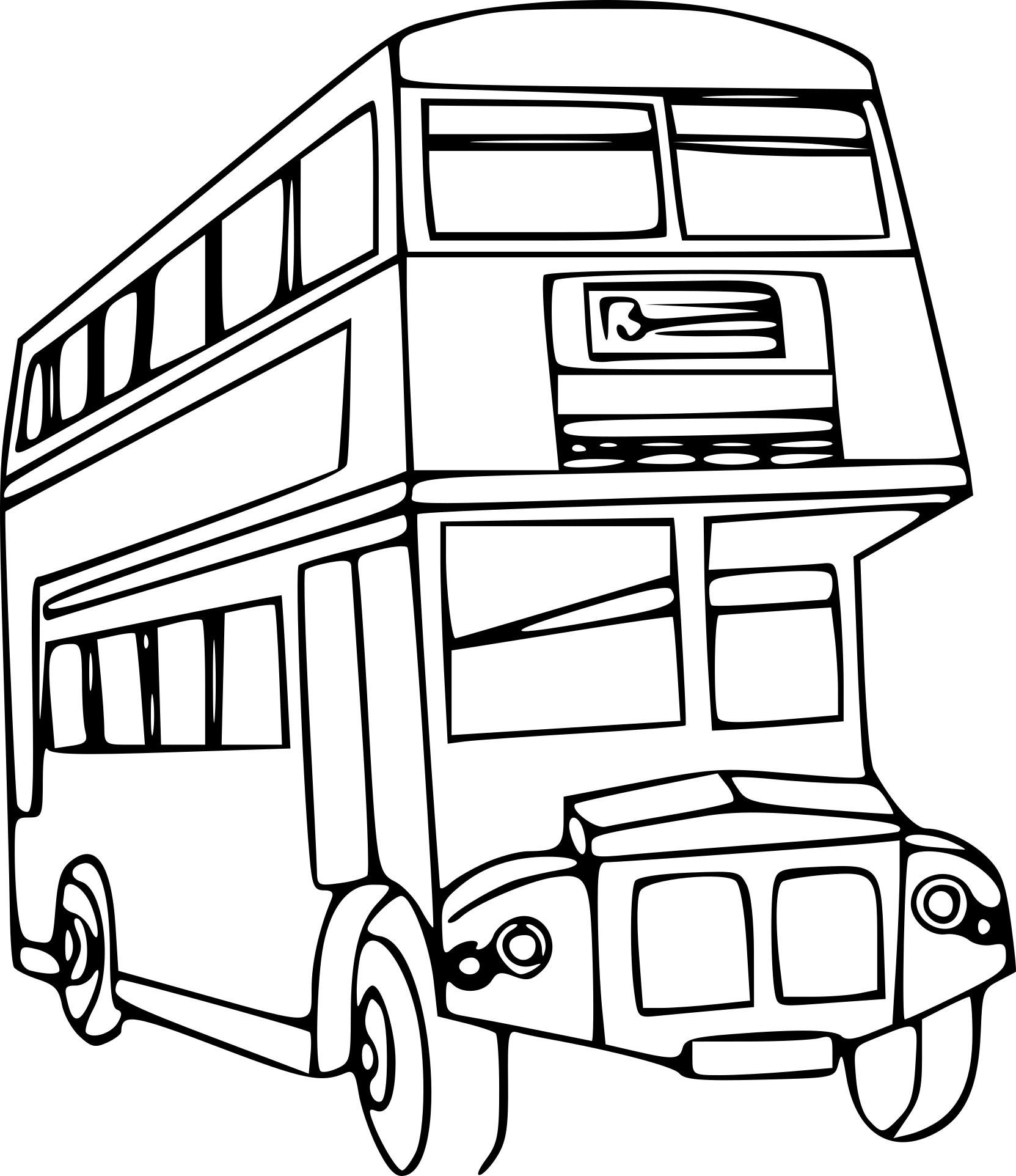 1663x1924 Coloriage Minibus Superbe Plan Coloriage Autobus Coloriage Roue