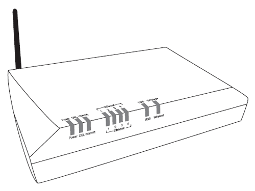 Modem Drawing At Getdrawings Com