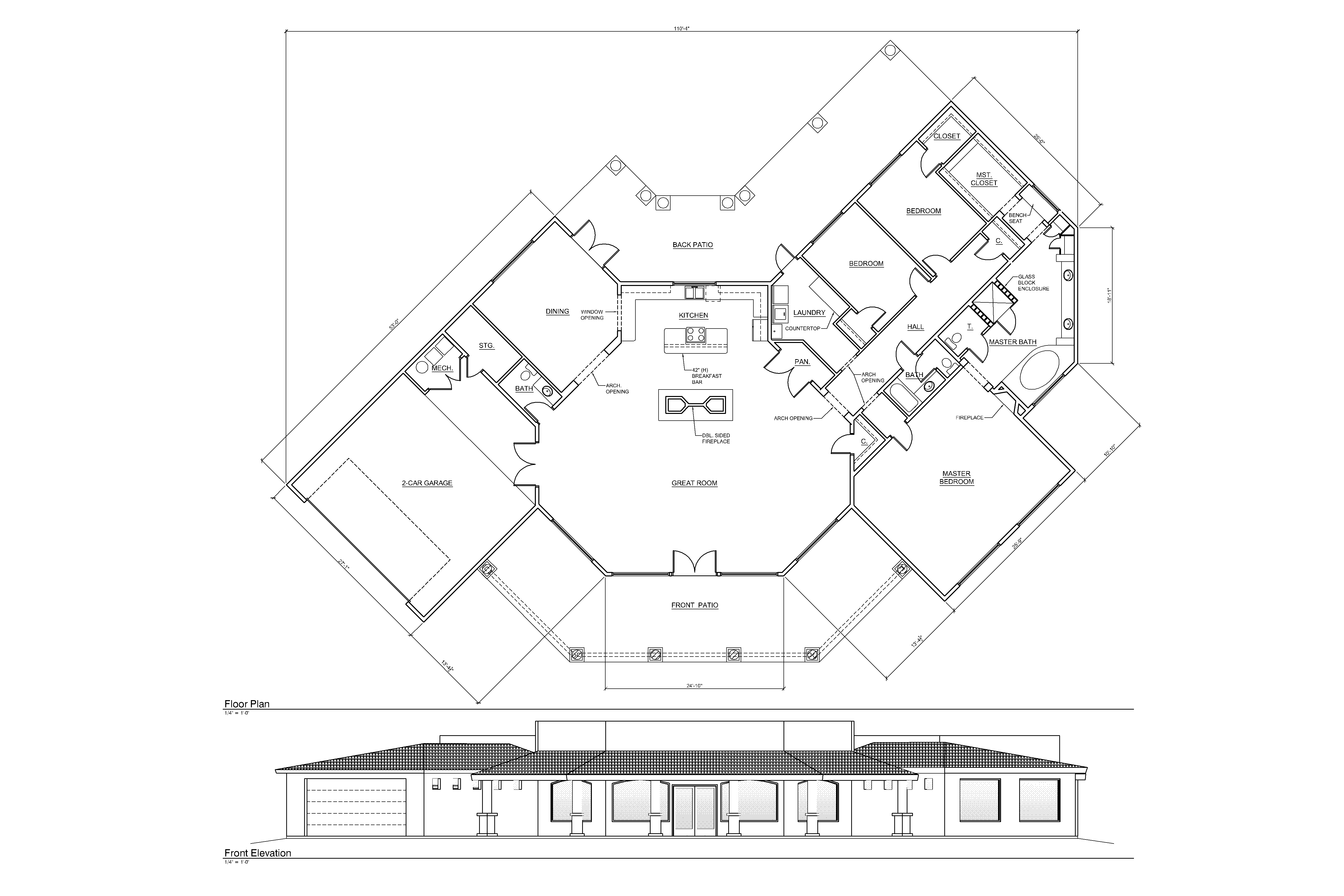 5400x3600 Commercial Building Floor Plans Office Design Layout Plan