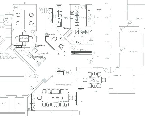 590x510 Modern Office Layout Plan Full Image For Modern Office Layout Plan