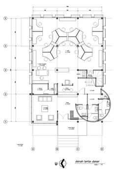 236x358 Office Interior Layout Plan Delectable Furniture Concept Of Office