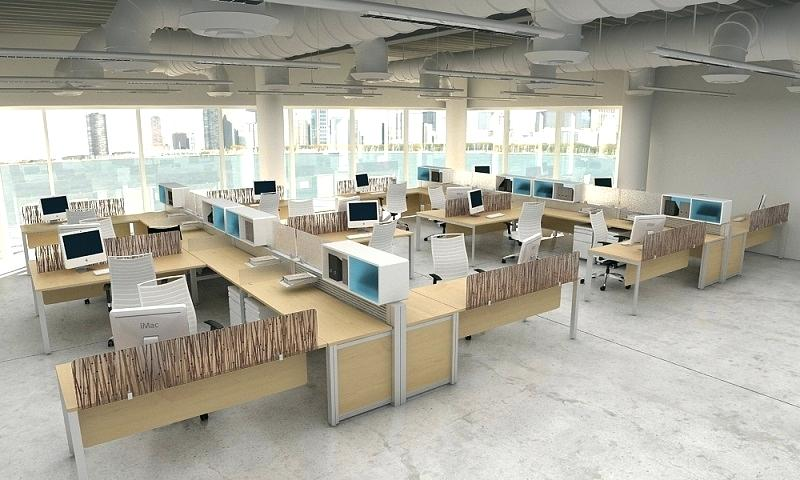 800x480 Modern Office Layout Plan Executive Design Small Drawing