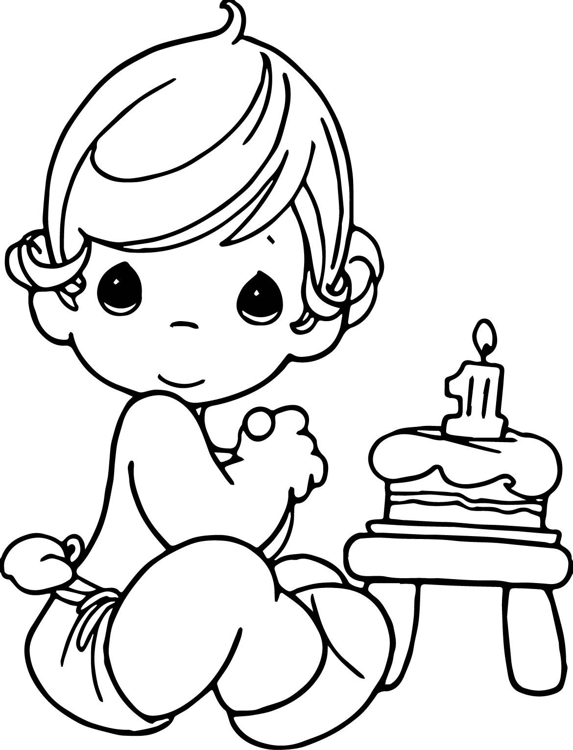 1170x1532 It S Here Precious Moment Coloring Pages Drawing At Getdrawings