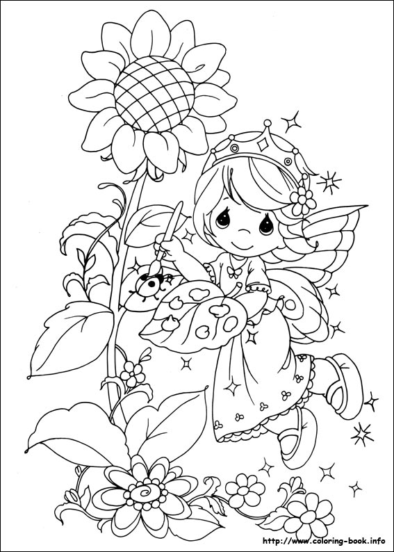 567x794 Precious Moments Coloring Pages On Book Info Within Moment 4
