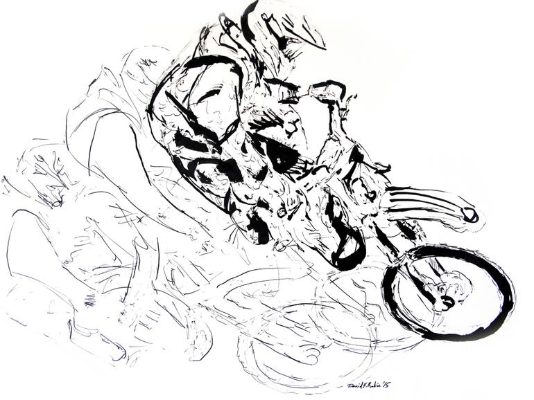 770x578 Saatchi Art Moment In Time Drawing By David Rabie