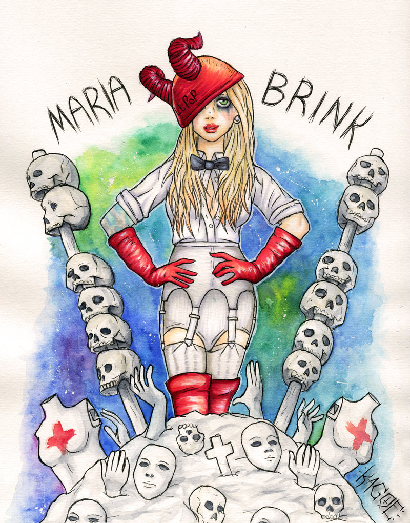 800x1020 Maria Brink In This Moment By Kagoe