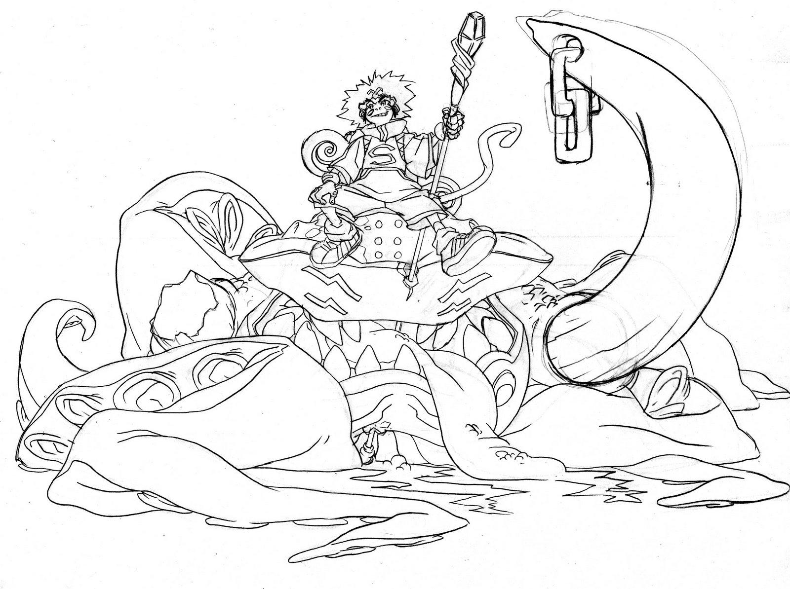 1600x1194 Return Of The Monkey King!