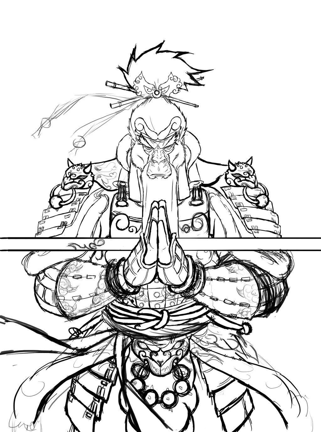 1024x1378 The Real King By Ntocha On Hanuman