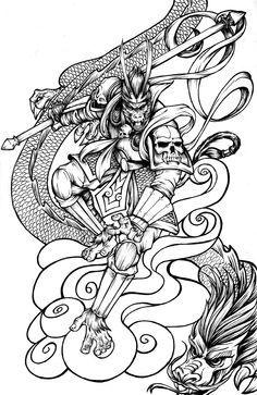 236x363 Magic Monkey Tattoo
