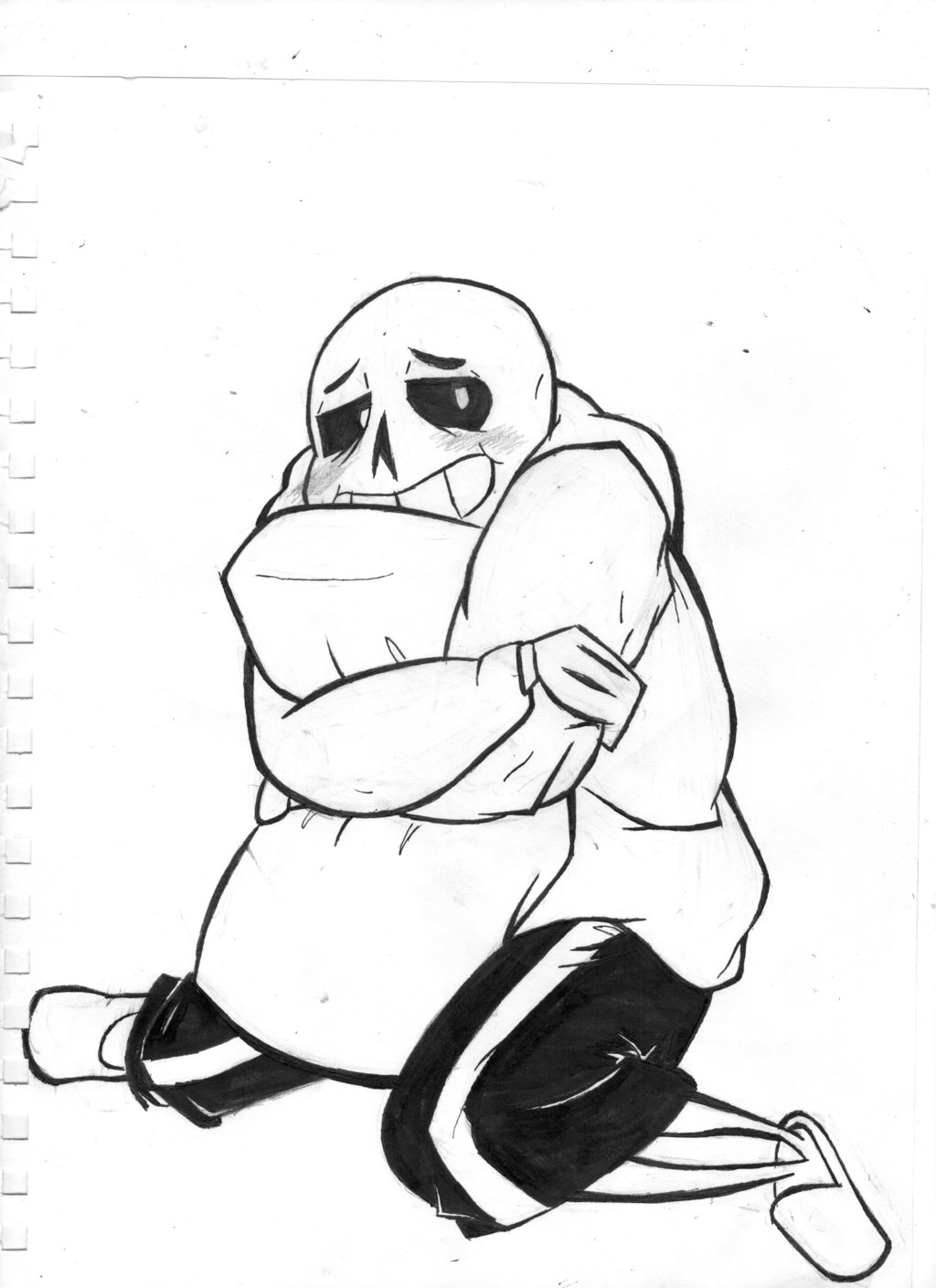 1024x1409 I Think Sans Is In The Mood For Hugs By Asmallone