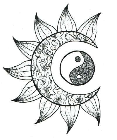 400x479 Sun Drawing Tattoo Tumblr Creativo Drawing