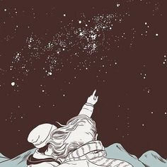 236x236 Pix For Gt Moon And Stars Drawing Tumblr Illustrations quote