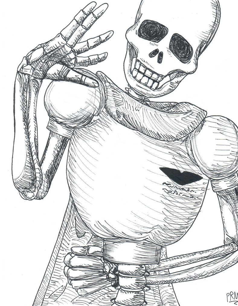 788x1013 Realistic Papyrus Pen Drawing By Pierreredmoon