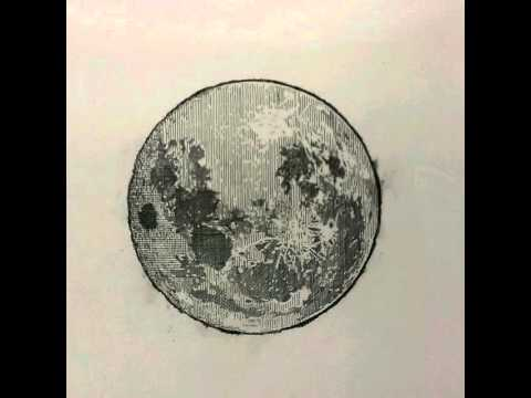 480x360 Moon Crosshatch Drawing Time Lapse