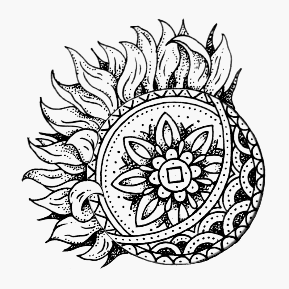 936x936 Moon And Sun Drawing Follow Along Americanbellekel Art Tats