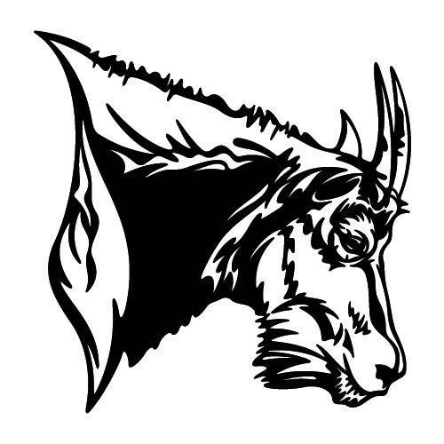 500x500 Mountain Goat Decal
