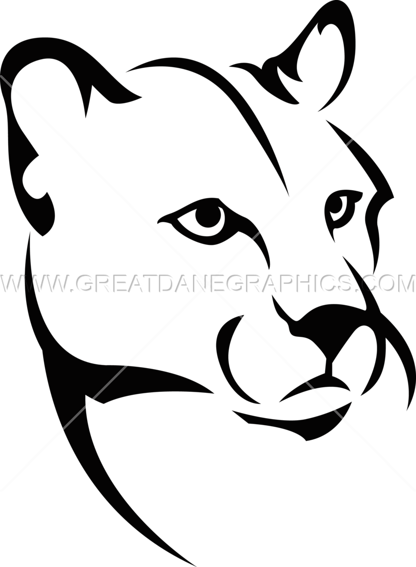 825x1123 Collection Of Easy Mountain Lion Drawing High Quality, Free