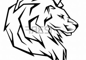 300x210 Lion Drawings Easy How To Draw A Lion. Easy Step By Step Drawing