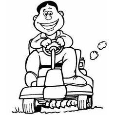 236x236 Push Mower By @jicjac, Technical Drawing Of A Lawn Mower.,