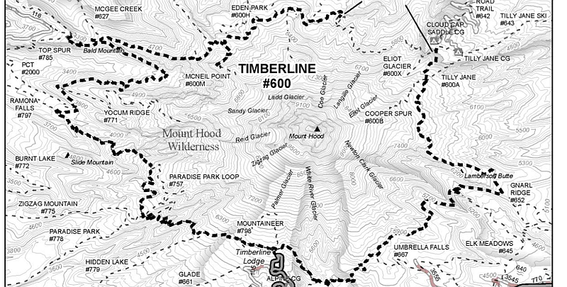 800x405 Mt. Hood's Timberline Trail Reopens After Upgrades Hood River News