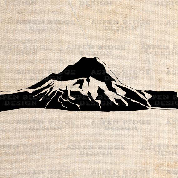 570x570 Mt Hood Graphic Clip Art Wilderness Vector Mount Hood Art