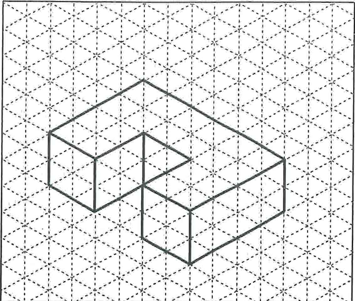 1134x961 Collection Of Multiview Drawing Problems High Quality, Free