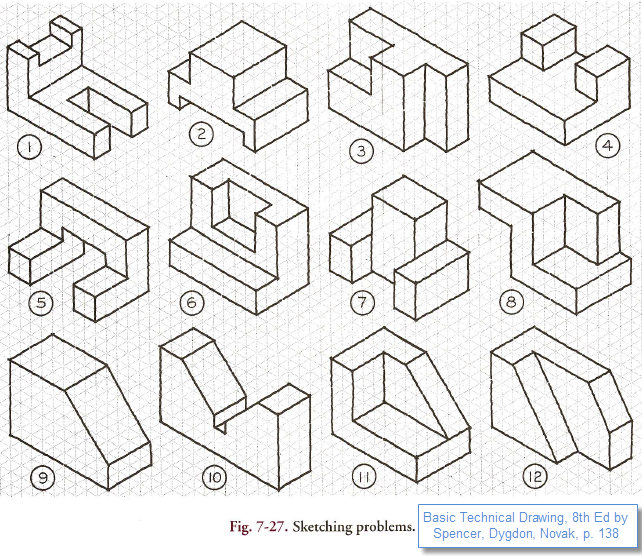 642x556 Collection Of Multiview Drawing Worksheet Answers High