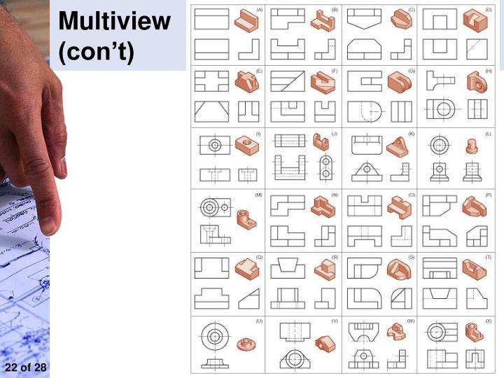 720x540 Collection Of Multiview Drawing Worksheet Answers High