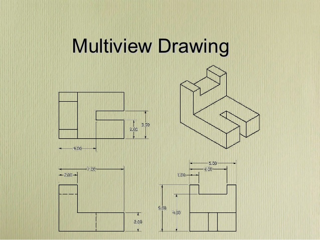 638x479 Collection Of Multiview Drawing Worksheets High Quality