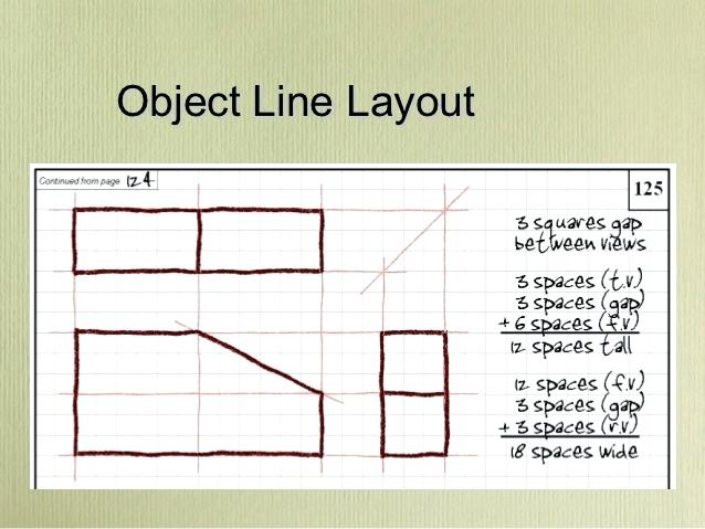 638x479 Multi View Drawing Larger Image Multiview Worksheets