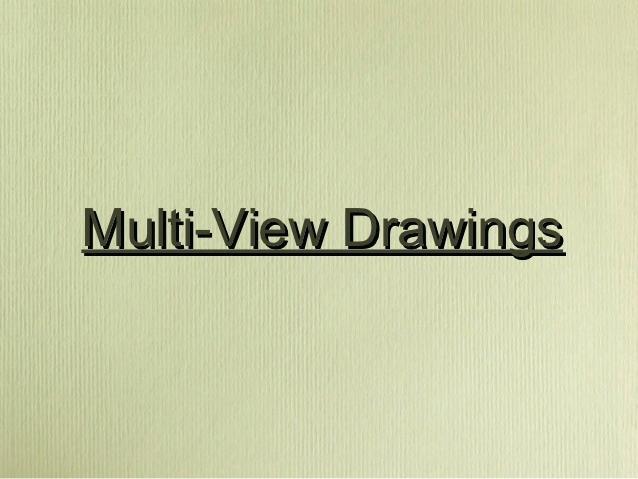 638x479 Multi View Drawing