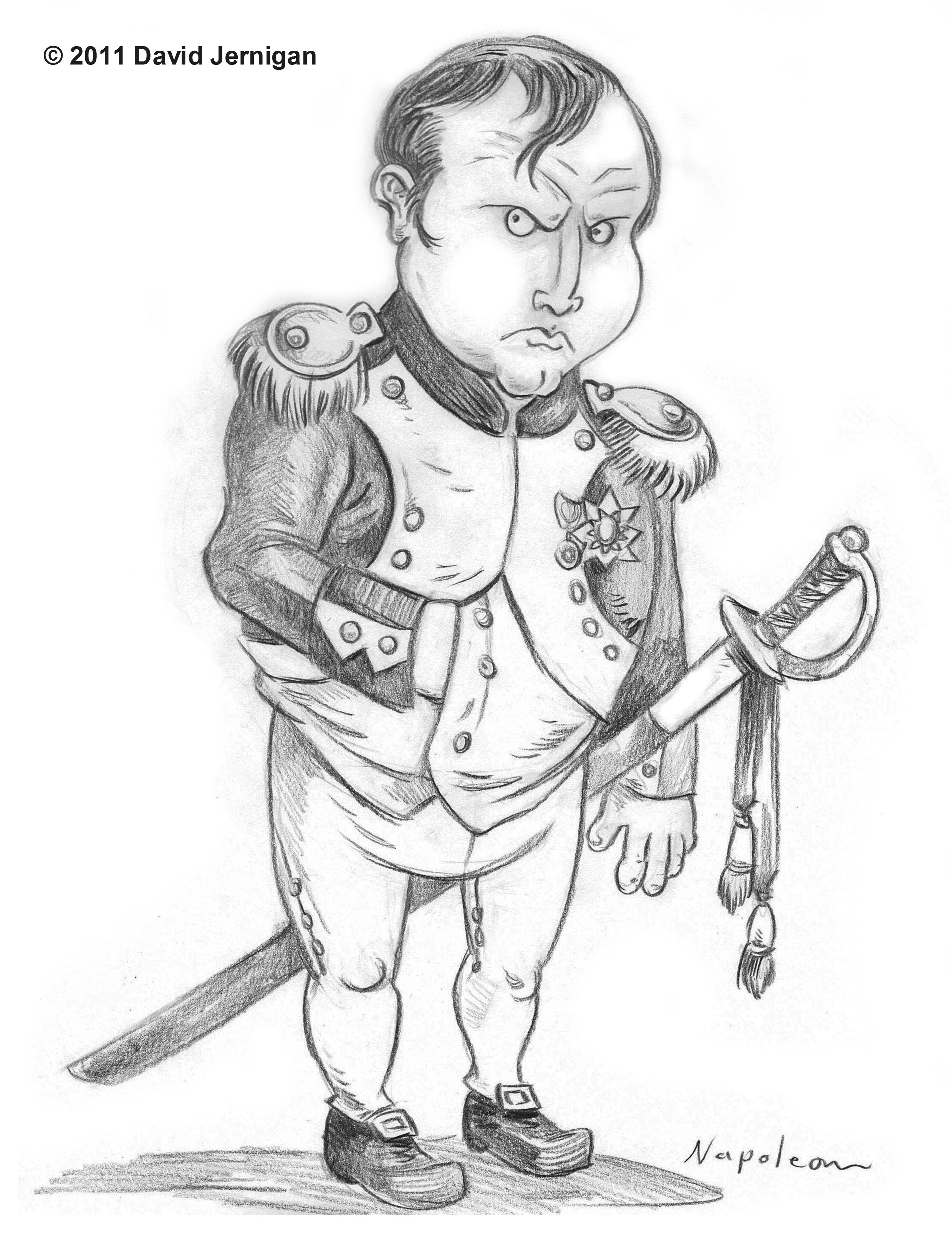 2479x3229 Collection Of Napoleon Bonaparte Cartoon Drawing High