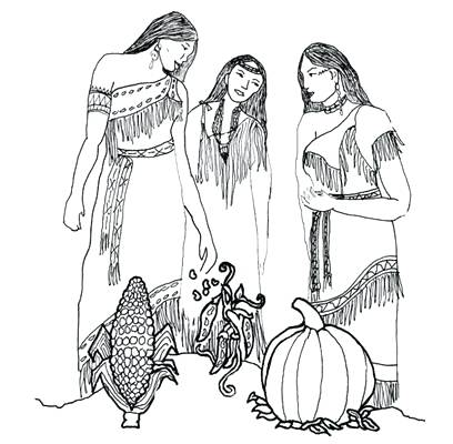 408x400 Native American Coloring Book As Well As Ideal Native Coloring