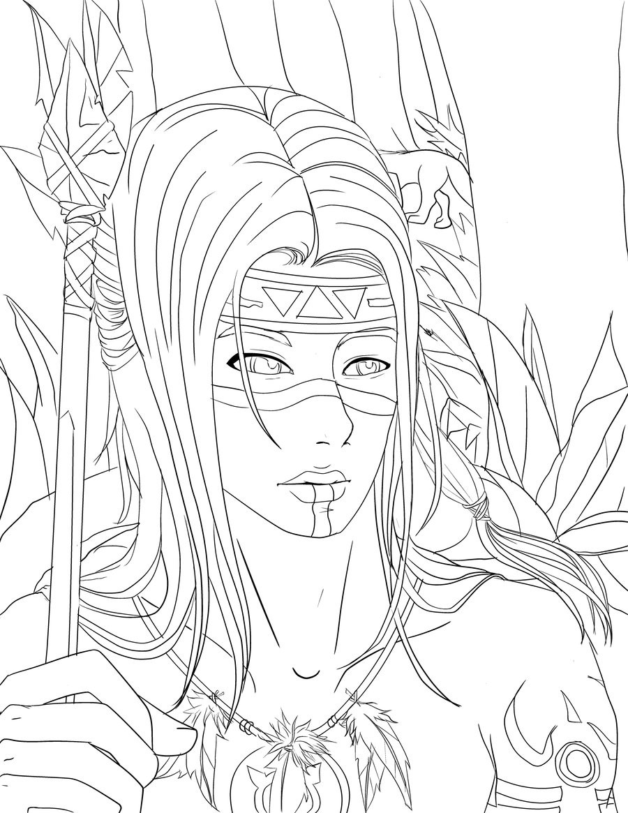 900x1165 Printable Native American Coloring Pages Inspirational Coloring