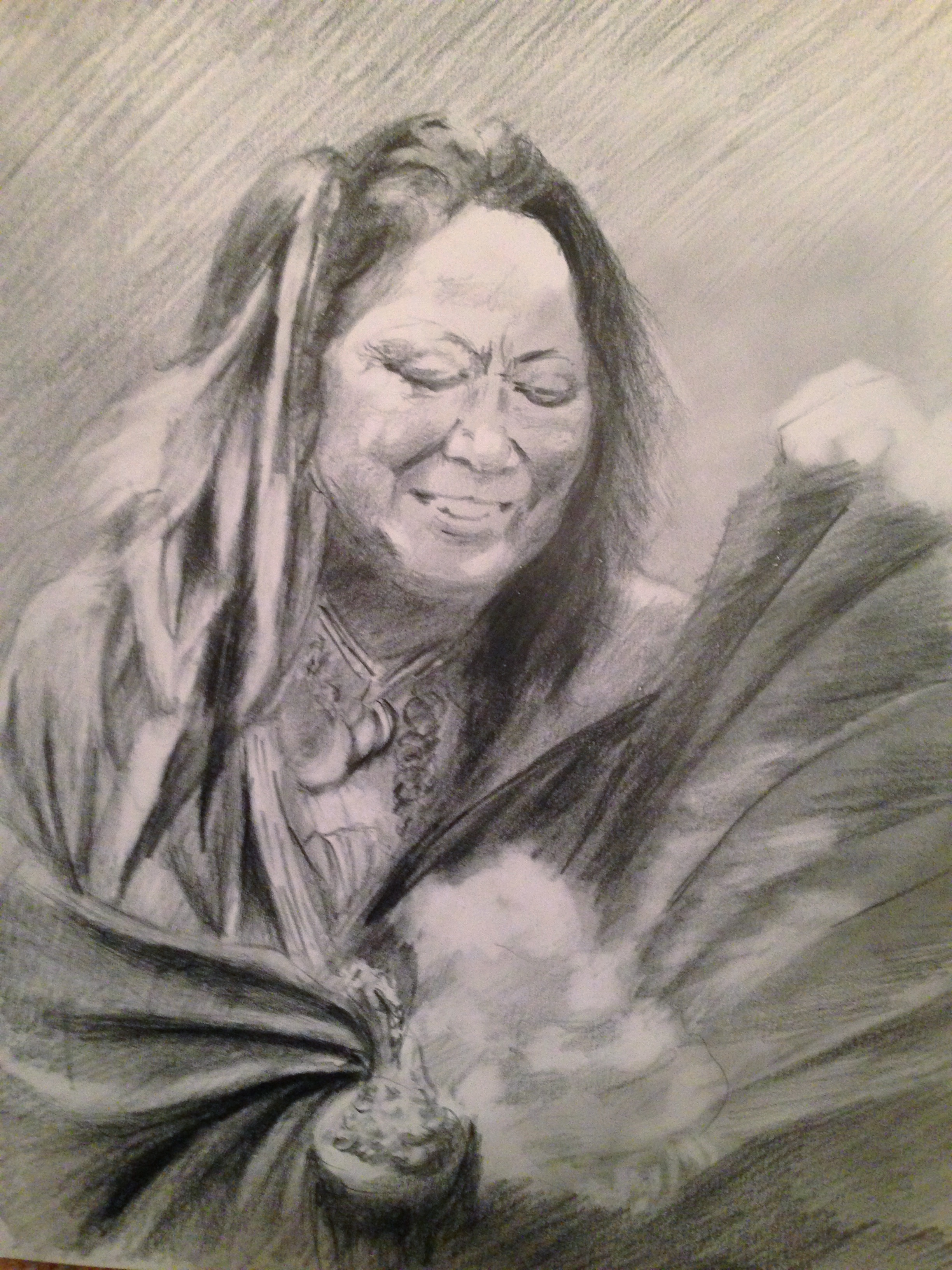2448x3264 Collection Of Native American Woman Drawing High Quality