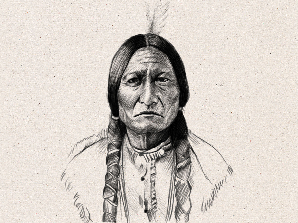 1224x918 How To Draw A Native American Face 9 Steps (With Pictures)