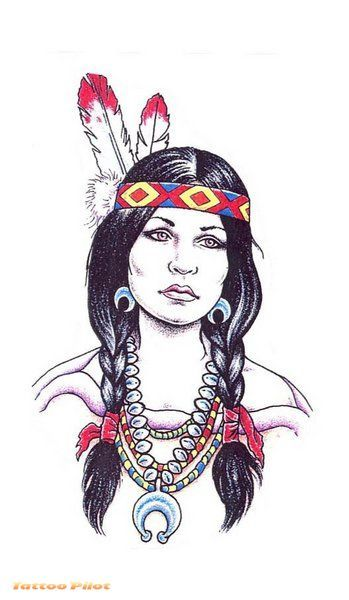 349x600 American Indian Women Drawings Thread Whats Your Ethnicity