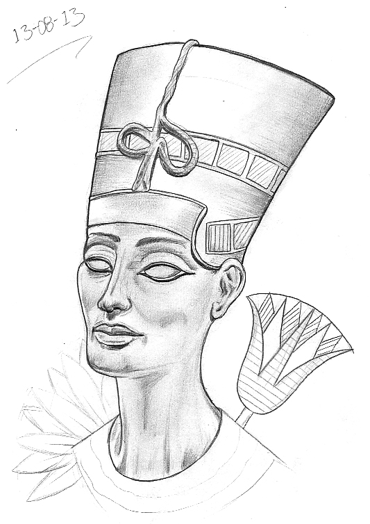 533x754 Tattoo Sketch A Day Egyptian August 8th